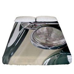 Auto Automotive Classic Spotlight Fitted Sheet (California King Size)