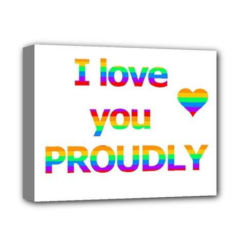 Proudly love Deluxe Canvas 14  x 11