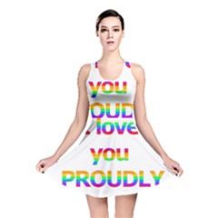 Proudly Love Reversible Skater Dress