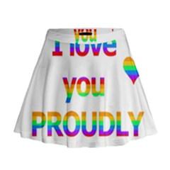 Proudly love Mini Flare Skirt