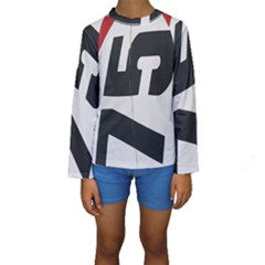 Car Auto Speed Vehicle Automobile Kids  Long Sleeve Swimwear