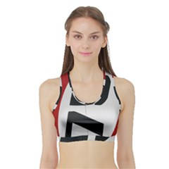 Car Auto Speed Vehicle Automobile Sports Bra with Border