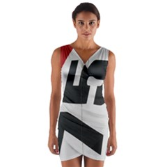 Car Auto Speed Vehicle Automobile Wrap Front Bodycon Dress