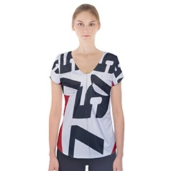 Car Auto Speed Vehicle Automobile Short Sleeve Front Detail Top