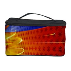 Christmas Abstract Cosmetic Storage Case