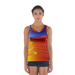 Christmas Abstract Women s Sport Tank Top