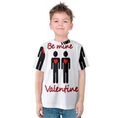 Be mine Valentine Kids  Cotton Tee