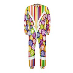 Christmas Tree Colorful OnePiece Jumpsuit (Kids)