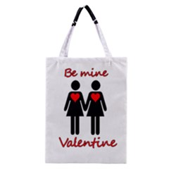 Be my Valentine 2 Classic Tote Bag