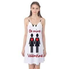 Be my Valentine 2 Camis Nightgown