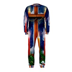 Christmas Lighting Candles OnePiece Jumpsuit (Kids)