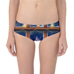 Christmas Lighting Candles Classic Bikini Bottoms
