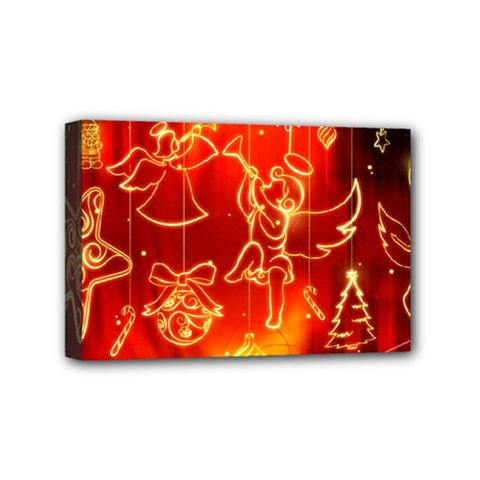 Christmas Widescreen Decoration Mini Canvas 6  x 4