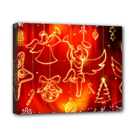 Christmas Widescreen Decoration Canvas 10  x 8