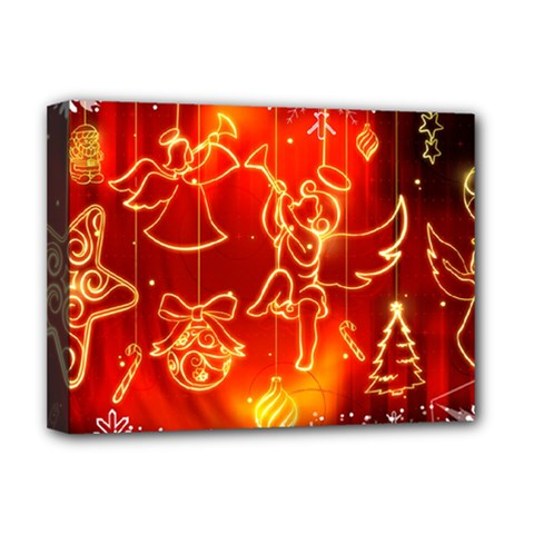 Christmas Widescreen Decoration Deluxe Canvas 16  x 12
