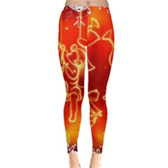 Christmas Widescreen Decoration Leggings