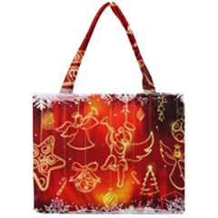 Christmas Widescreen Decoration Mini Tote Bag