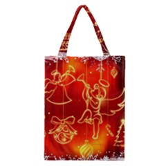 Christmas Widescreen Decoration Classic Tote Bag