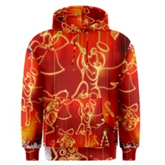 Christmas Widescreen Decoration Men s Pullover Hoodie