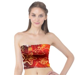 Christmas Widescreen Decoration Tube Top