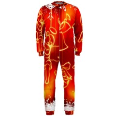 Christmas Widescreen Decoration OnePiece Jumpsuit (Men)