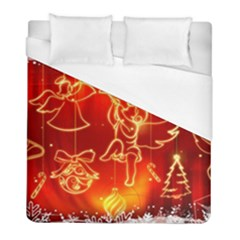 Christmas Widescreen Decoration Duvet Cover (Full/ Double Size)