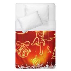 Christmas Widescreen Decoration Duvet Cover (Single Size)