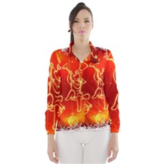 Christmas Widescreen Decoration Wind Breaker (Women)