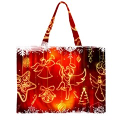Christmas Widescreen Decoration Large Tote Bag