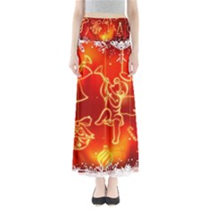 Christmas Widescreen Decoration Maxi Skirts
