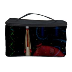 Christmas Xmas Bag Pattern Cosmetic Storage Case