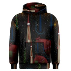 Christmas Xmas Bag Pattern Men s Pullover Hoodie