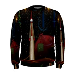 Christmas Xmas Bag Pattern Men s Sweatshirt