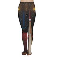 Christmas Xmas Bag Pattern Women s Tights