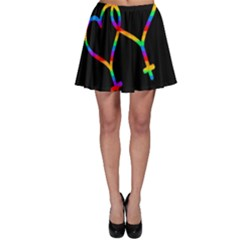 Love is love Skater Skirt