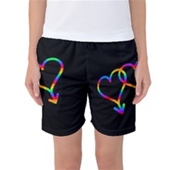 Love is love Women s Basketball Shorts