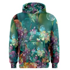 Butterflies, Bubbles, And Flowers Men s Pullover Hoodie