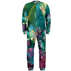 Butterflies, Bubbles, And Flowers OnePiece Jumpsuit (Men)