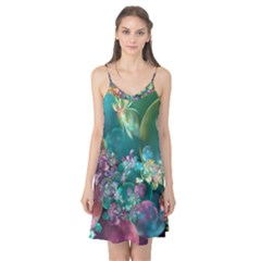 Butterflies, Bubbles, And Flowers Camis Nightgown
