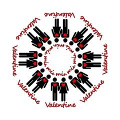 Be mine Valentine Hook Handle Umbrellas (Small)
