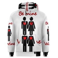 Be mine Valentine Men s Pullover Hoodie