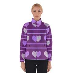 Purple Harts Pattern 2 Winterwear