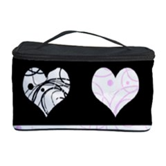 Elegant harts pattern Cosmetic Storage Case