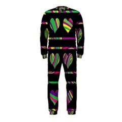 Colorful harts pattern OnePiece Jumpsuit (Kids)