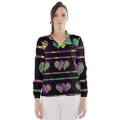 Colorful harts pattern Wind Breaker (Women)