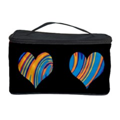 Colorful harts pattern Cosmetic Storage Case