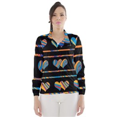 Colorful harts pattern Wind Breaker (Women)