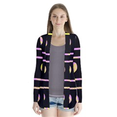 Pink and yellow harts pattern Cardigans