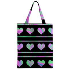 Pastel harts pattern Classic Tote Bag