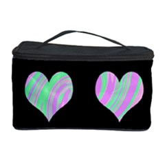 Pastel harts pattern Cosmetic Storage Case
